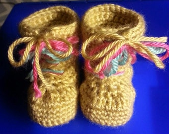 Baby Combat Boots
