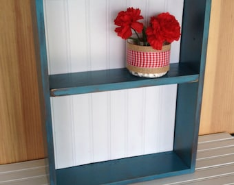 Upcycled Drawer Shelf Distressed Shabby Chic