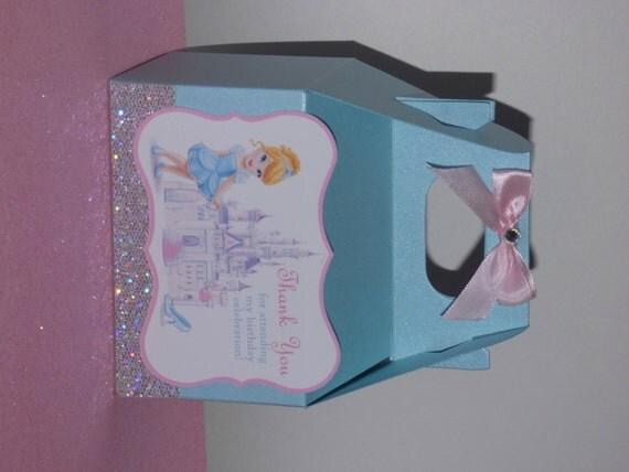 Cinderella Carriage Favor Boxes : Cinderella birthday party favor boxes wikii