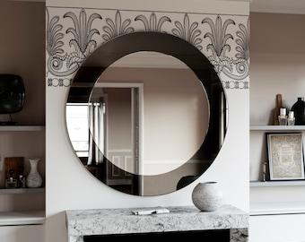 Circle Wall Mirrors round wall mirror | etsy