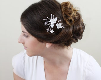 Sale 20% Off - Bridal hair Pins Lila, Bridal Headpiece