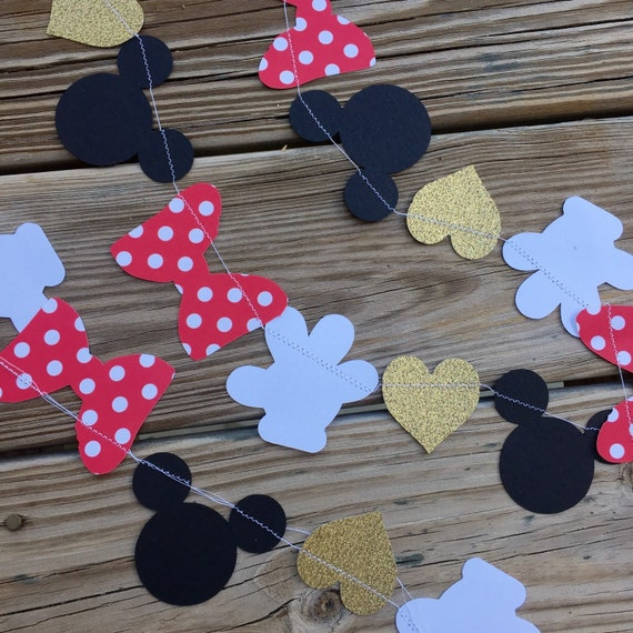 Minnie Mouse disney banner