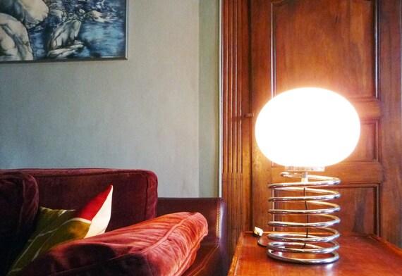 Ingo Maurer Lampe Ressort édition années 70 authentique vintage ...