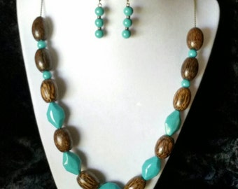 Wooden Turquoise
