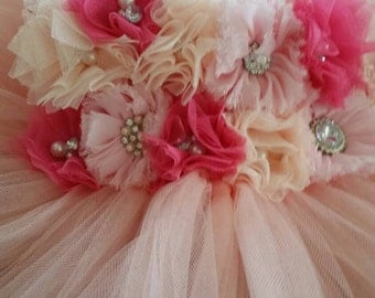 Full length tulle dress / flower girl dress/ tutu dress
