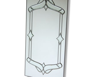 Leaded Mirror 610 x 1219 mm (24 x 48 Inches)