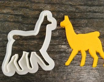 Llama / Alpaca Cookie Cutter, Mini and Standard Sizes, 3D Printed