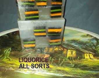 Liqorice  all sorts soap