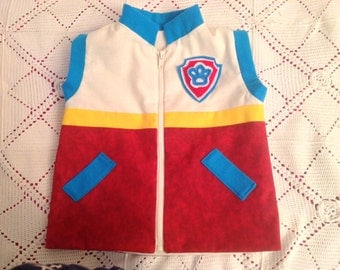 Pup leader Ryder vest - Cotton material version