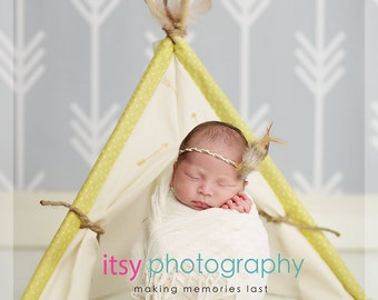 Newborn TeePee Photography Prop, Little TeePee, Little Tee Pee, Newborn TeePee, Photography Prop, Newborn Prop