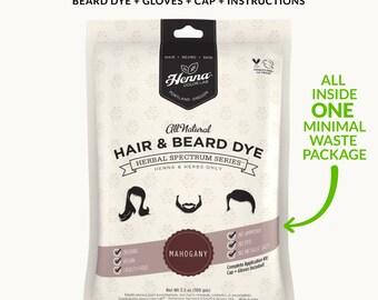 Mahogany Henna Beard Dye