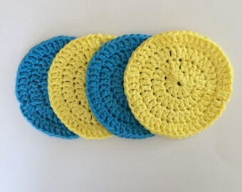 Large Crochet Face Scrubbies
