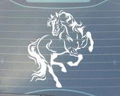 Tribal Horse Car Decal