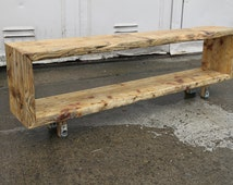 Reclaimed Timber Sideboard - The Mini Leg Console
