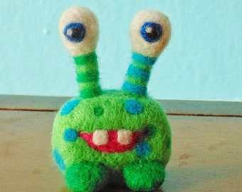 Monster-Needle Felted