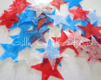 Star Confetti, Fourth of July Confetti, Patriotic Confetti, Election Confetti, Presidental Confetti, July 4th Confetti, Superhero Confetti