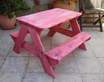 "Child table ""Picnic"" (2-6 years)"