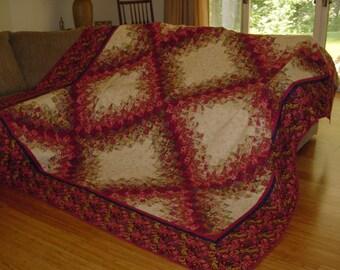 Floral Colorwash Quilt