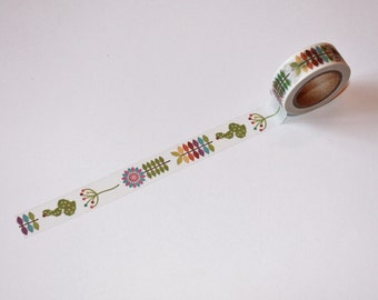 Flowers Washi Tape Rolls