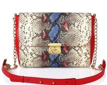 Xoxo New Money Python Embossed Shoulder Bag 73