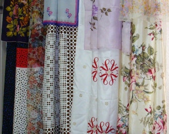 Scarf Curtains/Boho/Boho Gypsy/Hippie/Vintage Scarves