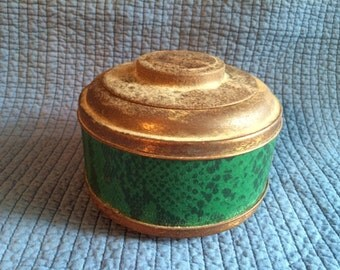 Antique Sewing Notions Canister