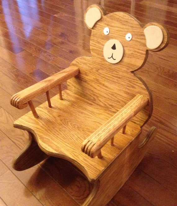Toddlers Bear Rocking Chair