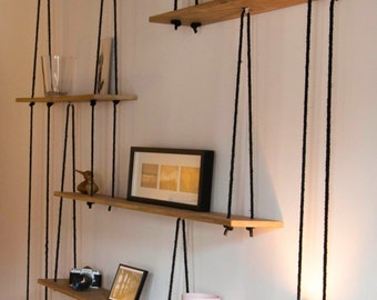 shelves etsy fr. Black Bedroom Furniture Sets. Home Design Ideas