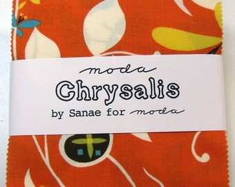 """Chrysalis Charm Pack - 42 ~ 5"""" Squares - by Sanae for Moda - 13420PP - OOP"""