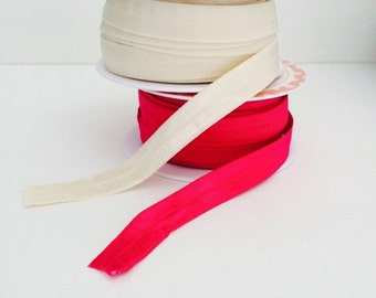 SALE!! 5 Yards Stretch Elastic by Riley Blake Designs - Hot Pink