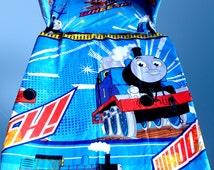 Thomas The Tank Engine TRAIN - Blue- Cot/Crib BEDDING SET