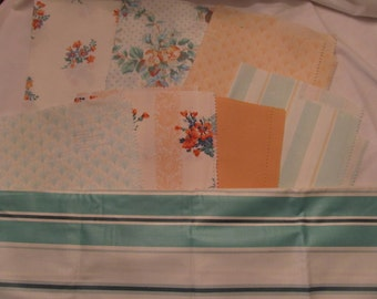 Lot of vintage Laura Ashley fabric samples