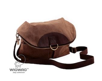 Women's convertible bag, convertible messenger, women's backpack, crossbody bag, canvas women's bag, canvas leather backpack, canvas bag