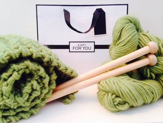 Knitting Kit For Beginners : Easy knitting kit beginners learn to knit by