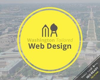 Web Design - Washington Tailored Custom Web Design Package
