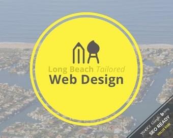 Web Design - Long Beach Tailored Custom Web Design Package