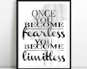 Become Fearless print