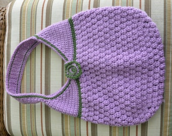 Popcorn Stitch Handbag