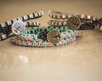Swarovski Crystal Wrap Bracelet