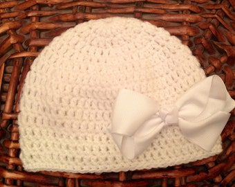 Bonnet with Ribbon buckle
