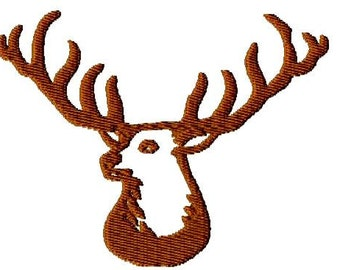 Machine Embroidery Design - Buck Pattern - Fill Stitch - Instant Download-3 Sizes