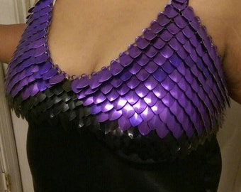 Custom Fit Scale Maille Top