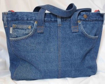 Repurposed Denim Bag
