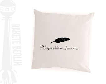 cushion cover  'Fether - Wingardium Leviosa'