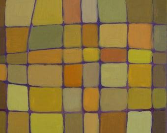 Autumn (abstact painting)