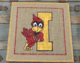 Iowa State University Cy Bird Wall Hanging