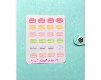 Macarons Sticker Sheet