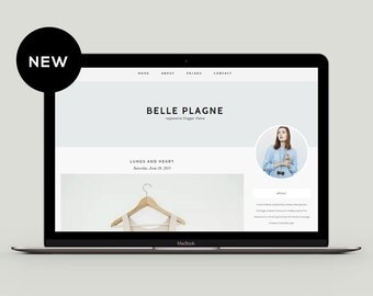 Responsive Premade Blogger Template - Belle Plagne