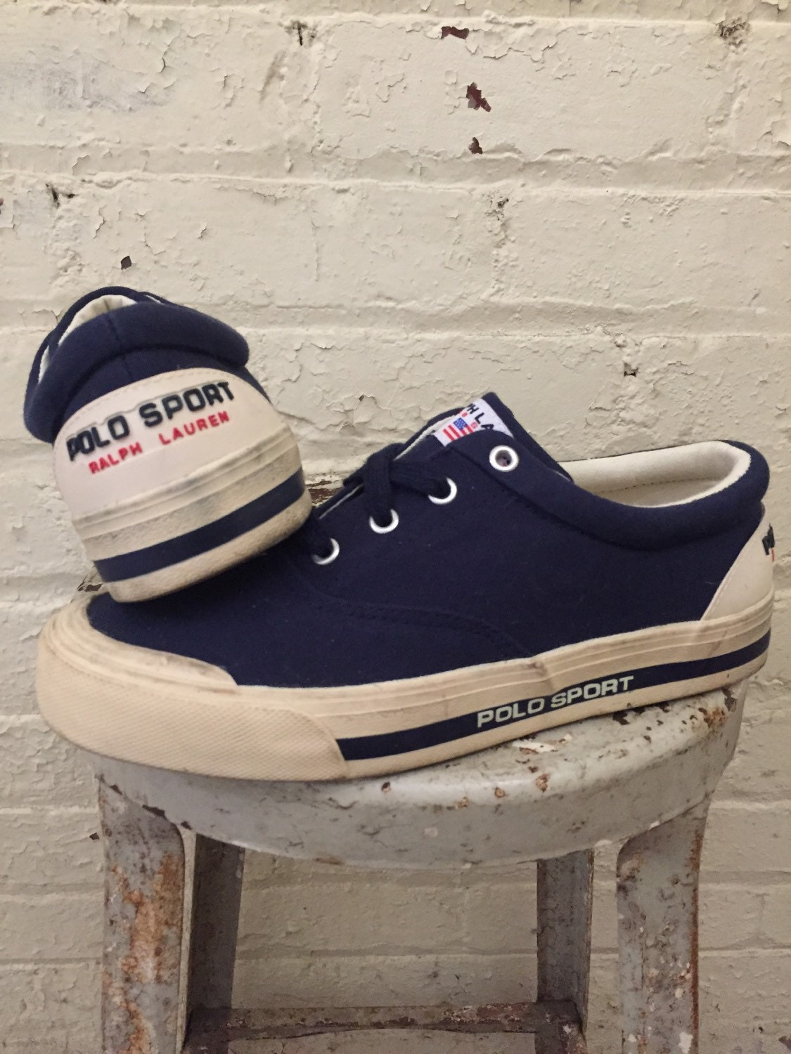 polo sport vintage canvas sneakers shoes ralph usa