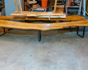 Curved ASH Bench